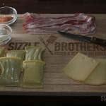 Unsere Zutaten für die Maultaschen im Kaese-Bacon Mantel