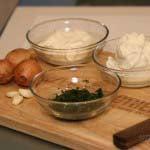 Zutaten für unser Sour Cream Rezept