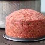 Der BBQ-Torten Rohling ohne Bacon