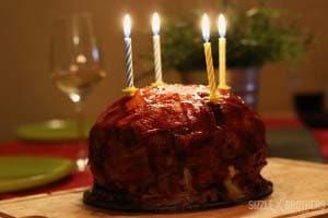 Die BBQ-Torte