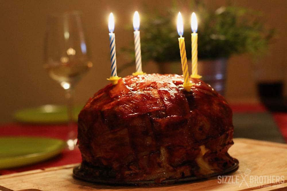 BBQ-Torte-Tellerbild