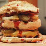 Der Crazy-Bacon Burger