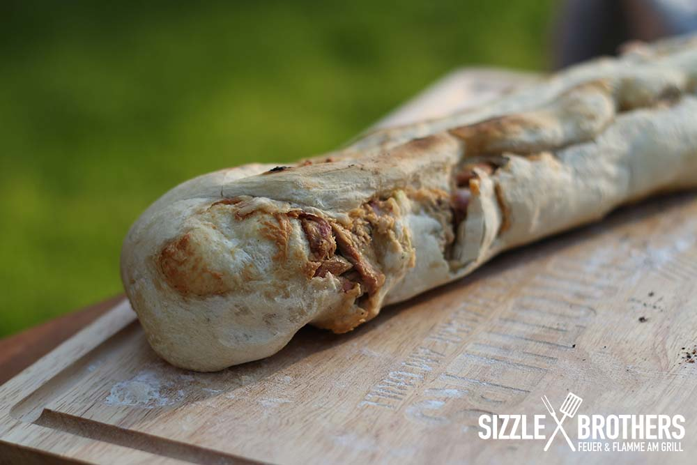 Das Pulled Pork Baguette