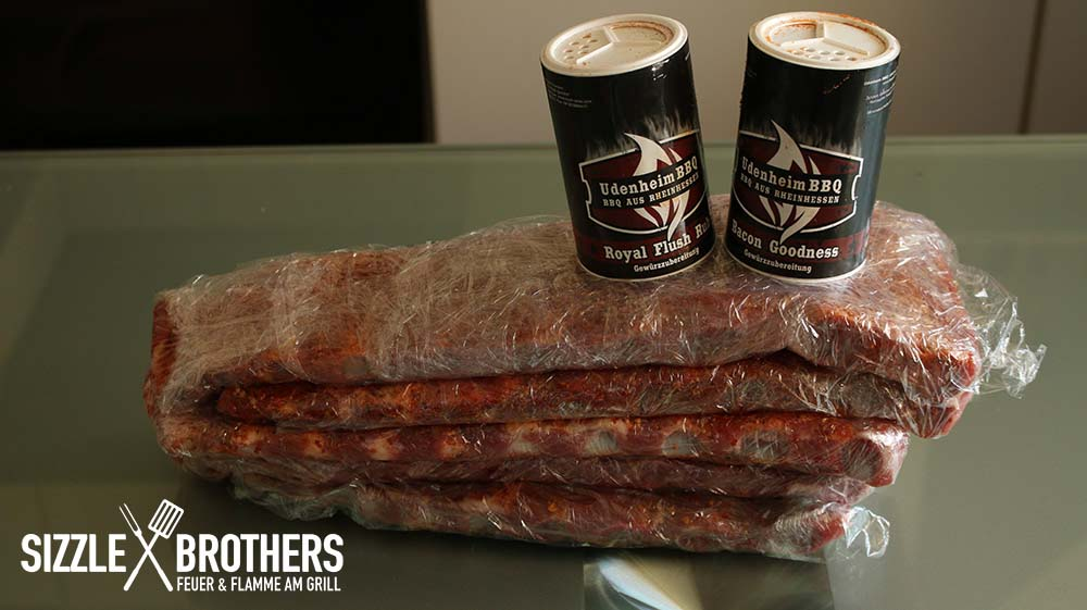 Sizzle Brothers Spareribs Vom Gasgrill : 3 2 1 ribs rippchen vom grill sizzlebrothers rezept