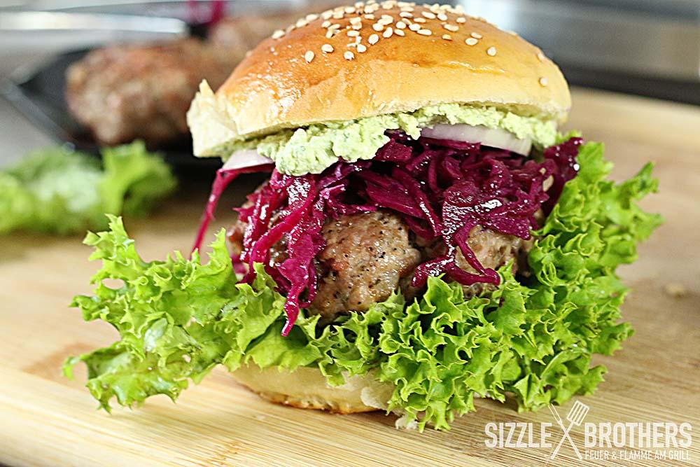 Gyros Style Burger