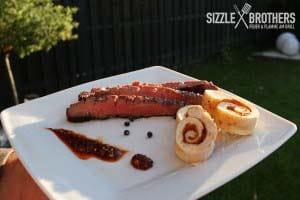 Flank Steak - mit Beilage ein echter Genuss