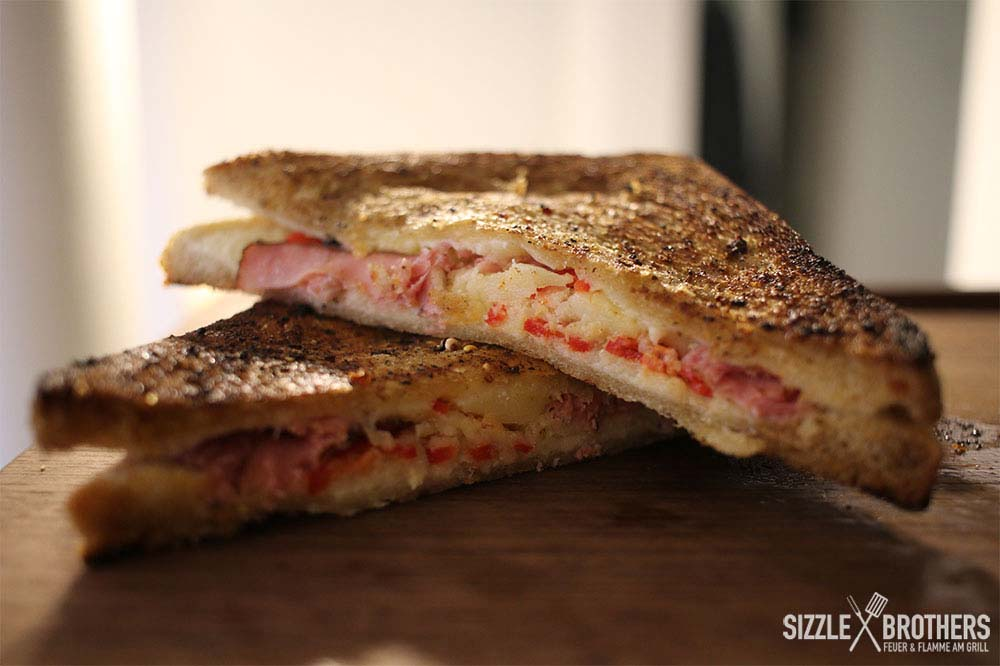 Grilled Cheese Pastrami Sandwich