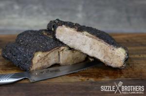 Beef Brisket vom Gasgrill