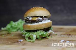 Der fertige Big Mac Burger. Lecker!