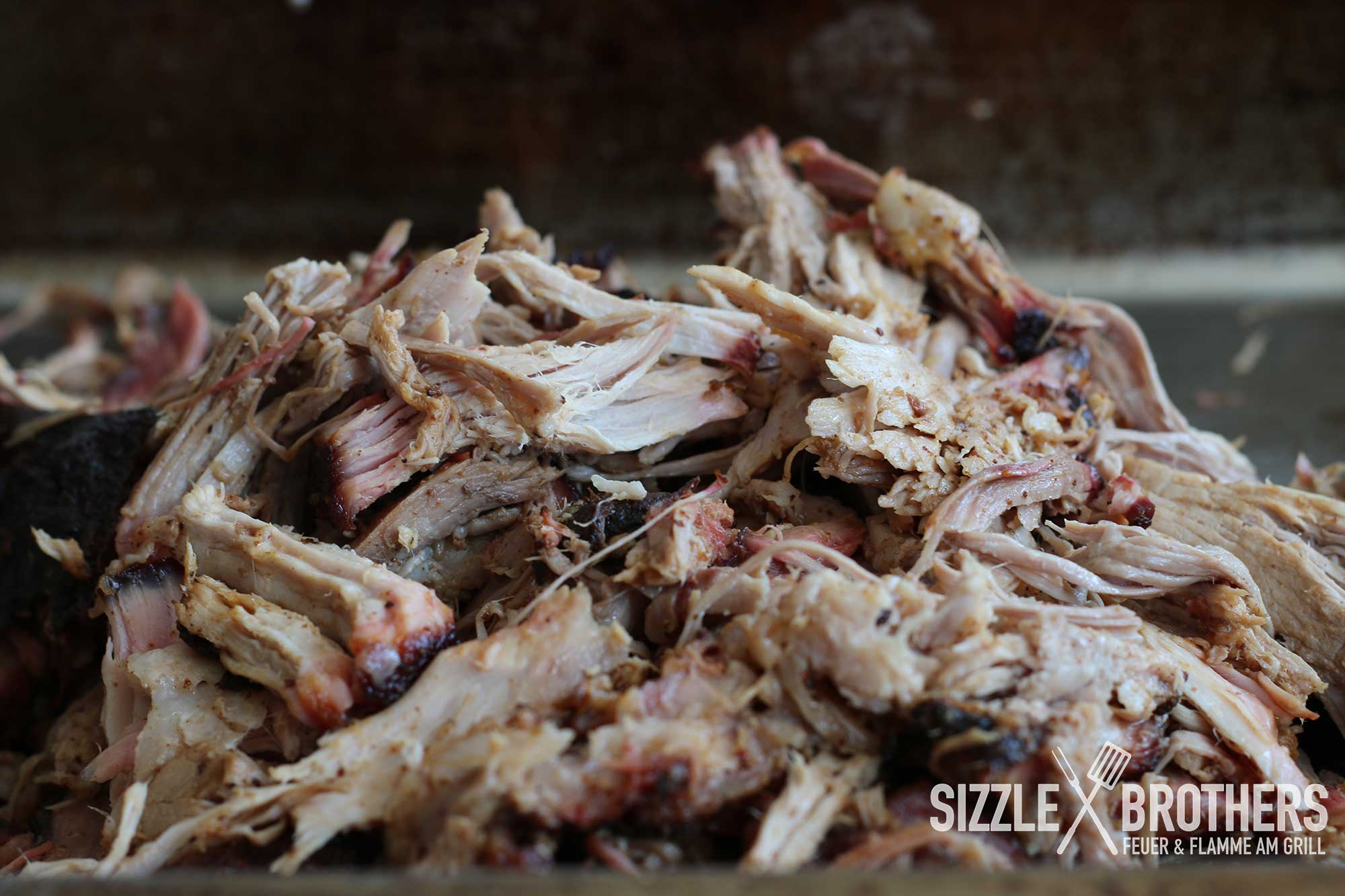 Pulled Pork Am Gasgrill : Pulled pork texas style gasgrill: ribalizer crazy good pulled pork