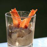Das fertige Bacon Eis. Nicht nur ein Hingucker