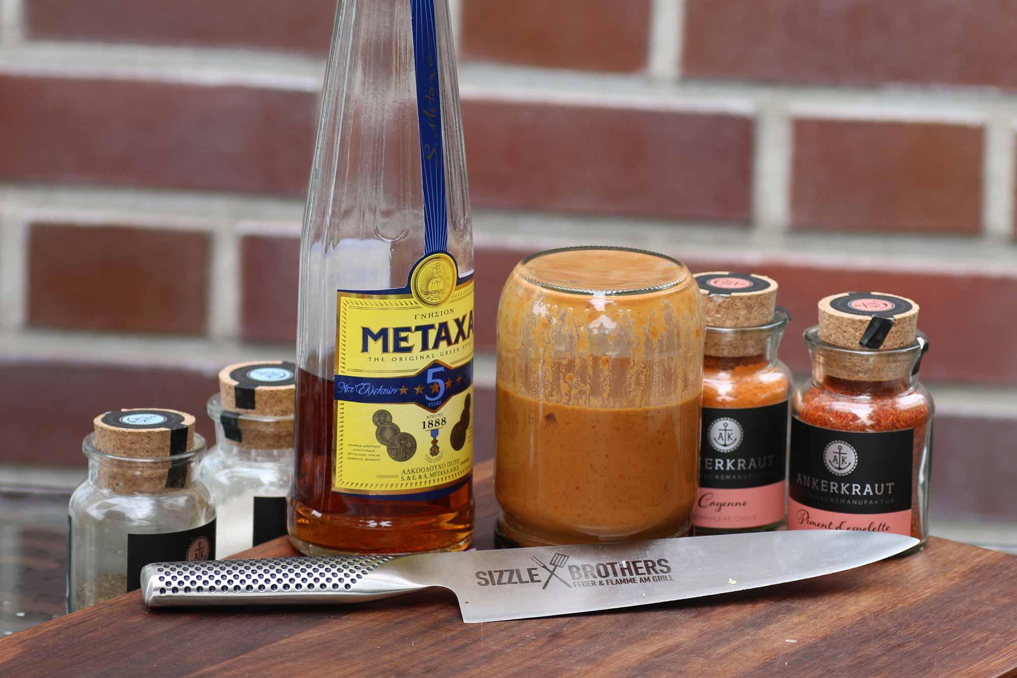 Metaxasauce – Rezept und wertvolle Tipps für die beliebte griechische Sauce