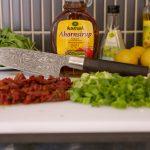 Zutaten für den Nudelsalat ohne Mayo