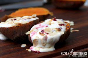 Das fertige Süßkartoffel Dessert