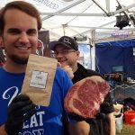 Unser XL Ribeye Steak. Das wird der Knaller