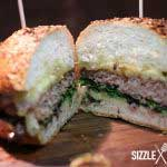 Mangalitza Burger Anschnitt