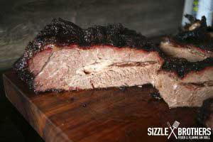 Beef Brisket vom Smoker