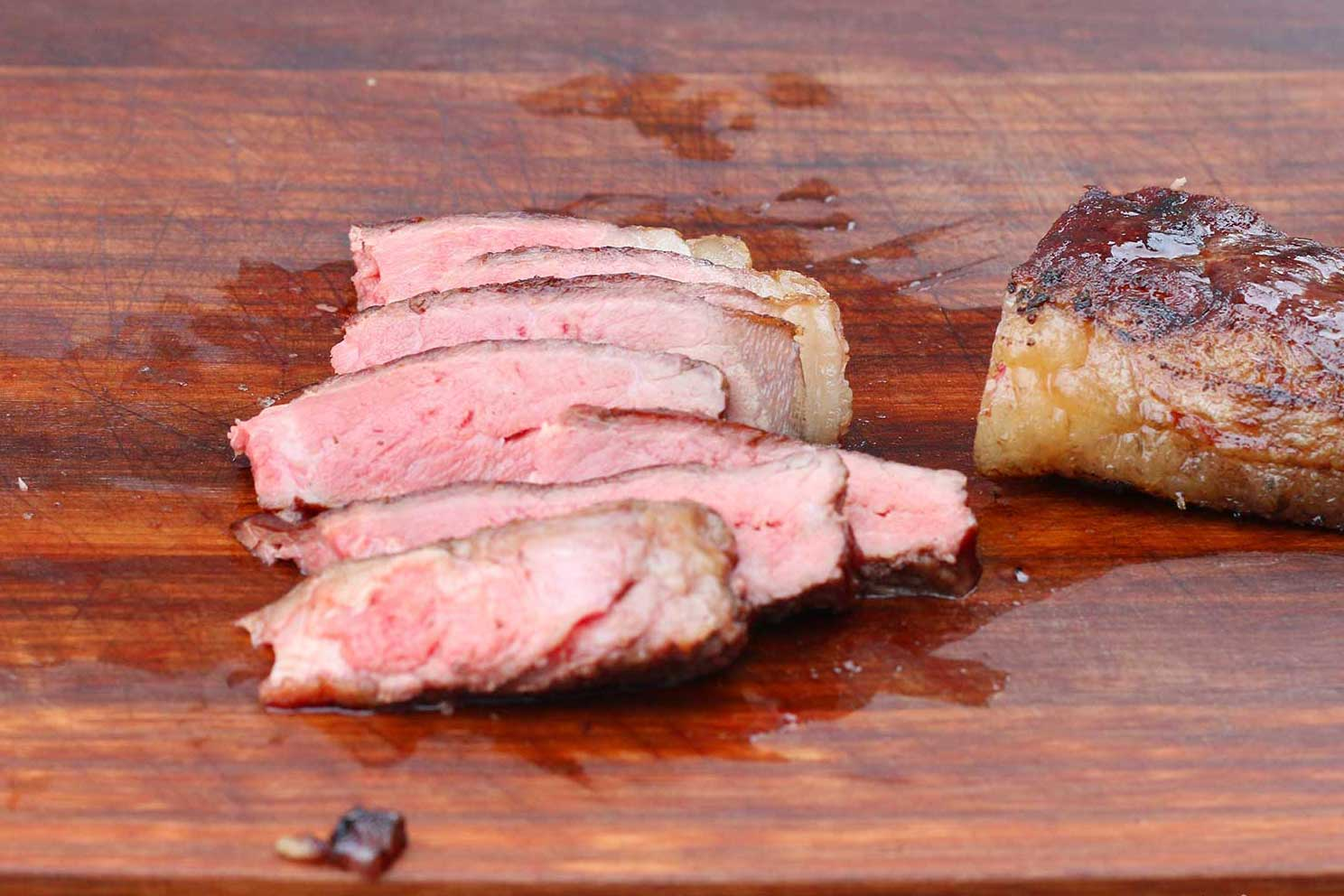 Gefrorene Steaks grillen - ja es geht