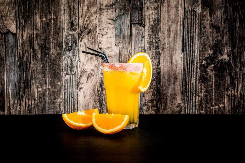 So toll sieht ein Solero Cocktail aus.