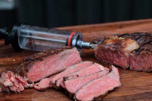 Ein Steak spritzen?