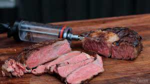 Steak spritzen