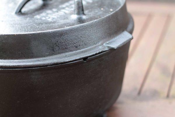 Dutch Oven einbrennen - sieht aus wie neu