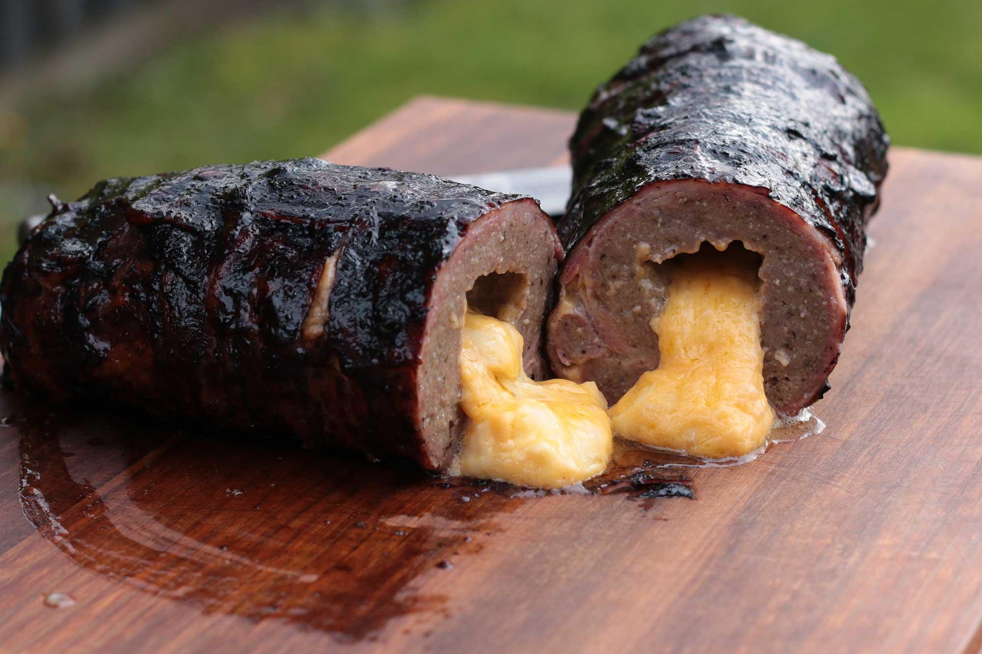Bacon Bomb grillen - das Ergebnis!