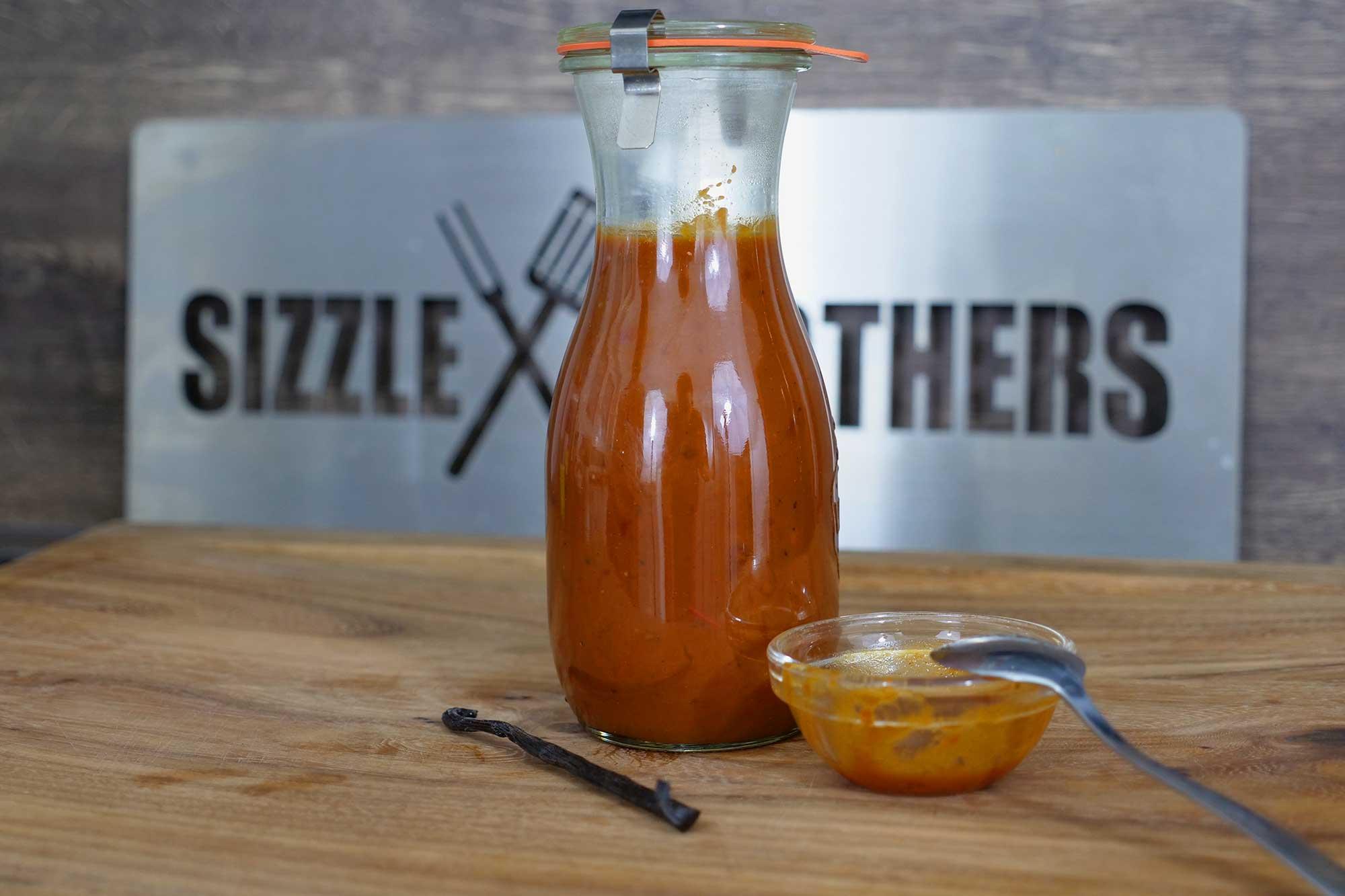 Vanille BBQ Sauce Rezept