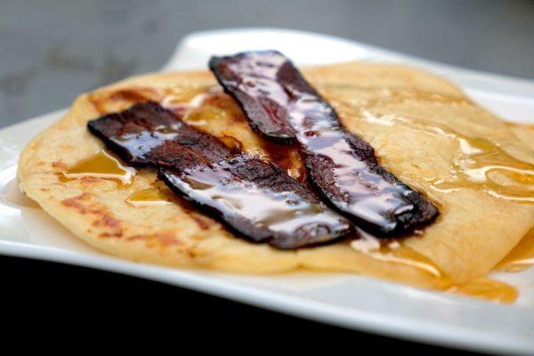 Bacon Pancakes - mmhh