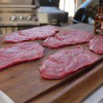 Die Rinderrouladen sind das Ausgangsprodukt für unser Beef Jerky