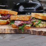 Knoblauch Butter Steak Sandwich