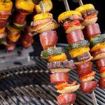 Sucuk grillen - die fertigen Sucuk Grillspieße