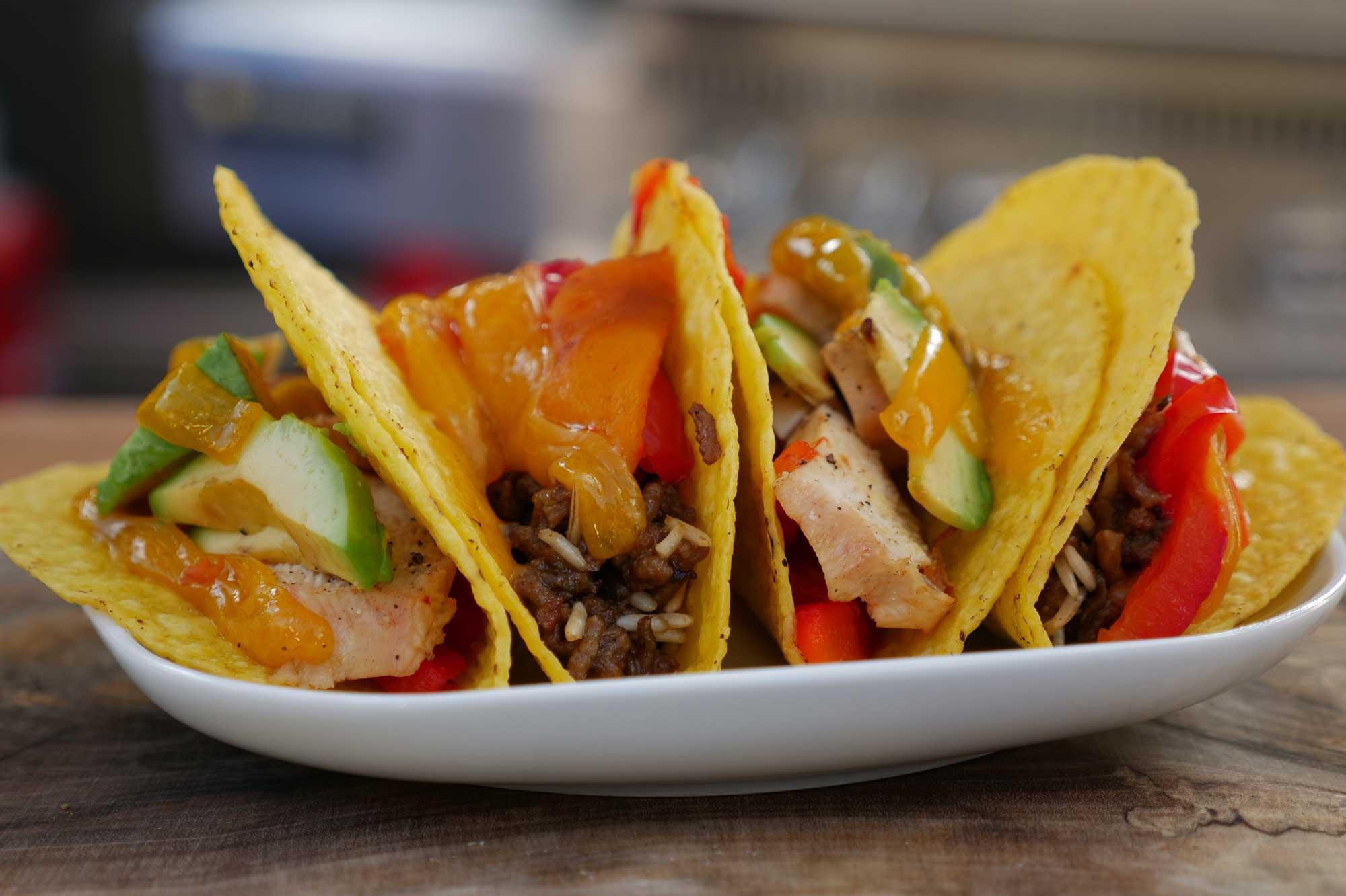 Tacos vom Grill – REWE Paket- und Lieferservice im Test