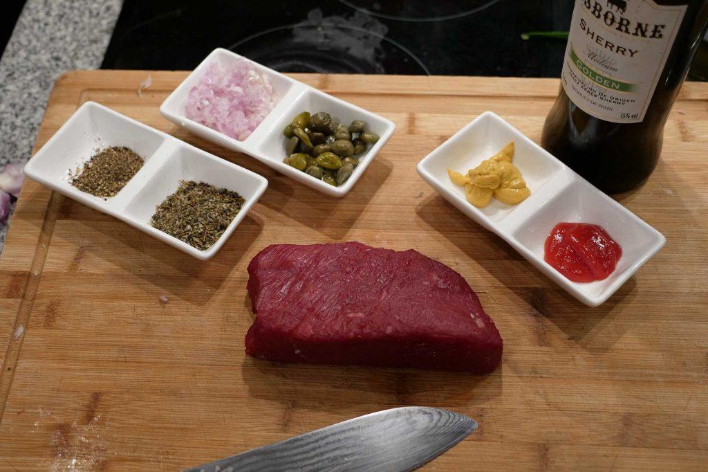 Beef Tartar Zutaten