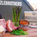 Schweinekoteletts grillen - die Zutaten