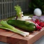 Überblick über die Zutaten für unser Grillgemüse