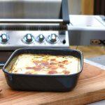 Kartoffelgratin einfach zubereitet - es sollte eine braune Kruste haben