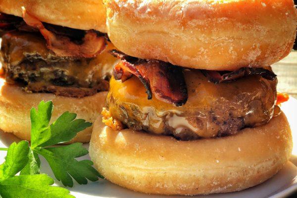 Burger selber machen - Der Donut Burger