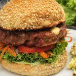 Burger selber machen- der Rindfleisch Burger