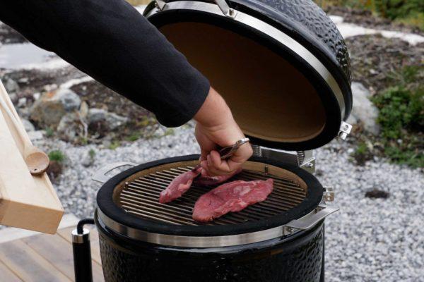Teres Major Steak bzw. Metzgerstück auf dem Grill