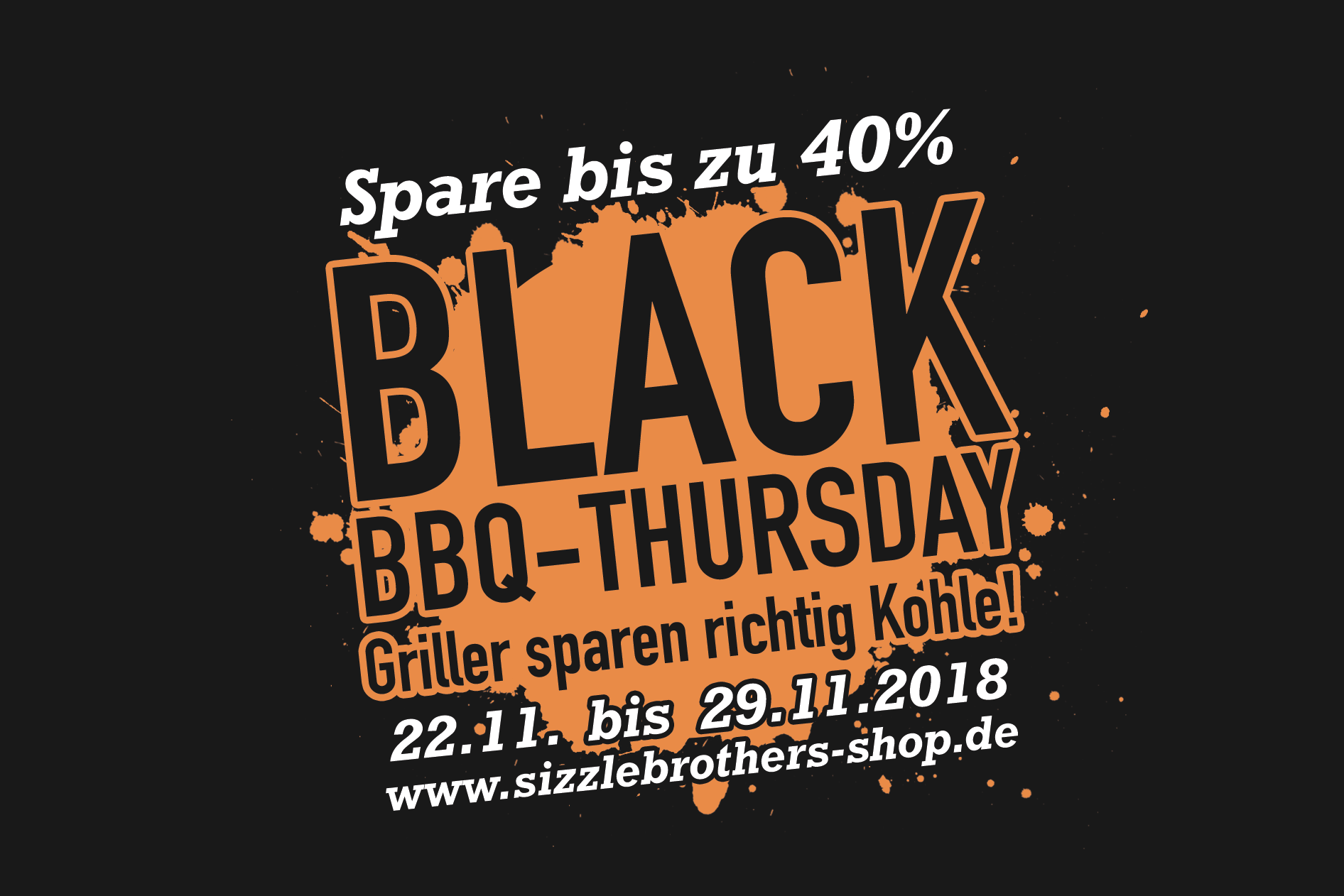 Black BBQ-Thursday bei den Brothers