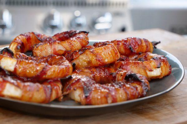 Bacon Zwiebelringe selber gemacht