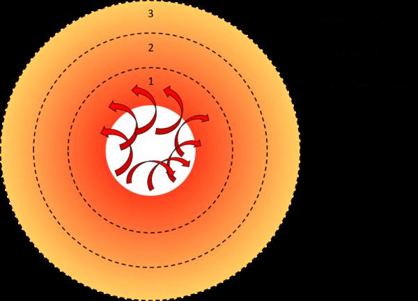 Abbildung 1: Temperaturverlauf bei der Plancha