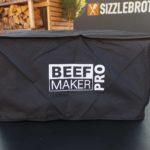 Der Beef Maker Pro in seiner Abdeckhaube