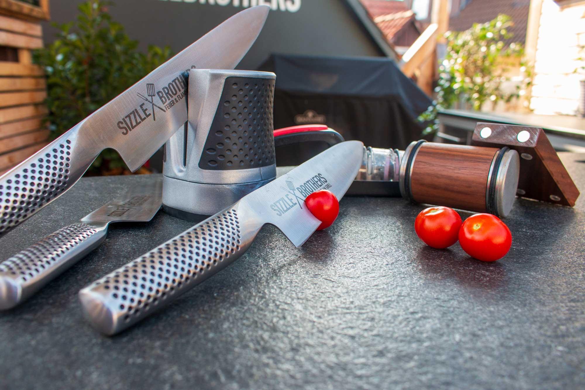 Messer schärfen leicht gemacht – Mit diesen Tools werden die Messer richtig scharf!