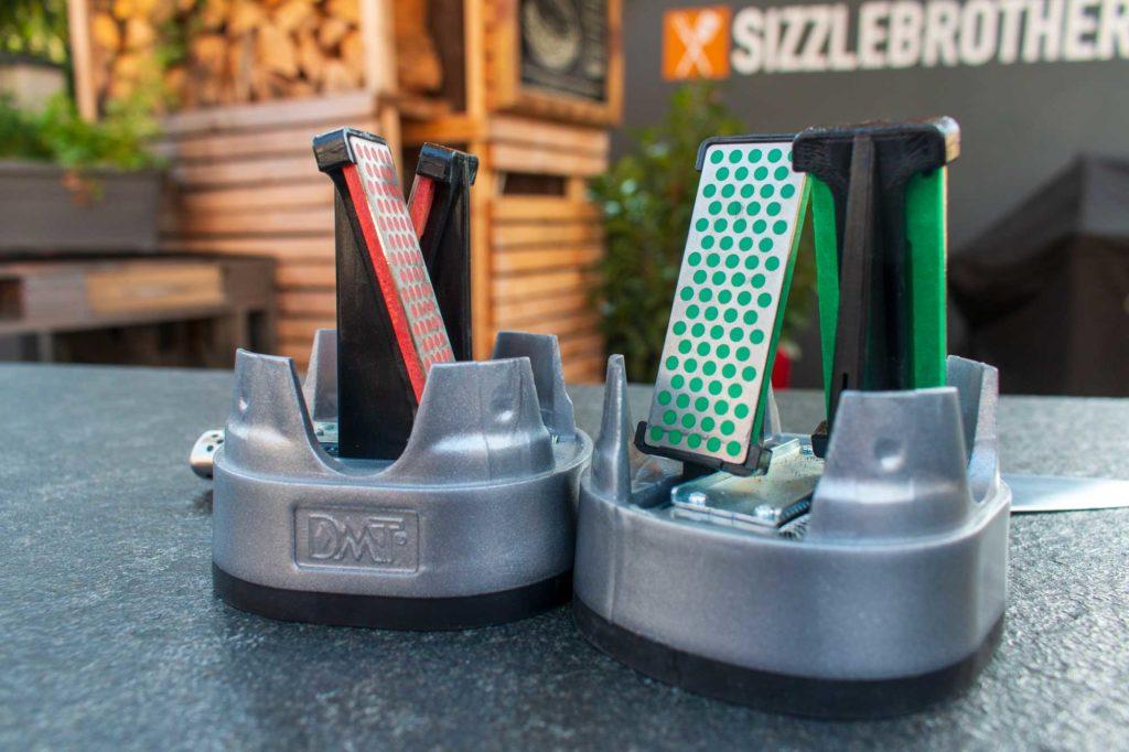 Messer schärfen - Innenansicht des DMT Simple Sharp