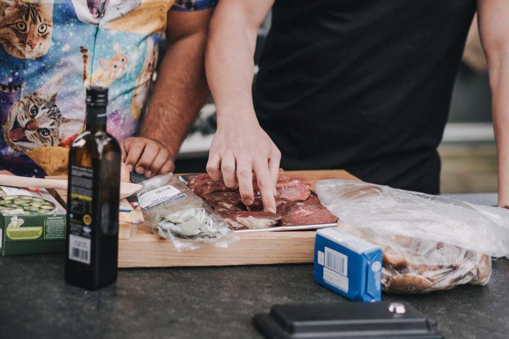 Gegrilltes Rinderfilet - Die Zubereitung