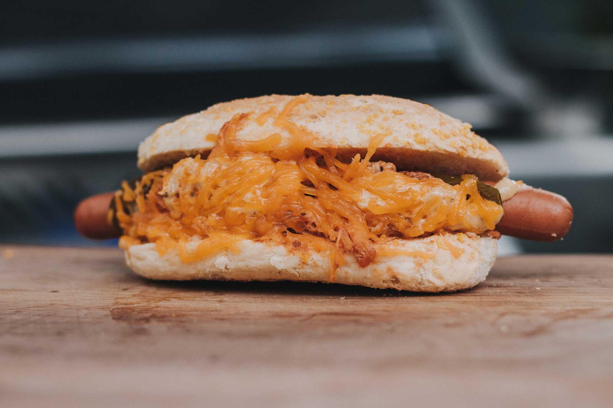 Pulled Chicken Hot Dog – Rezept und Anleitung