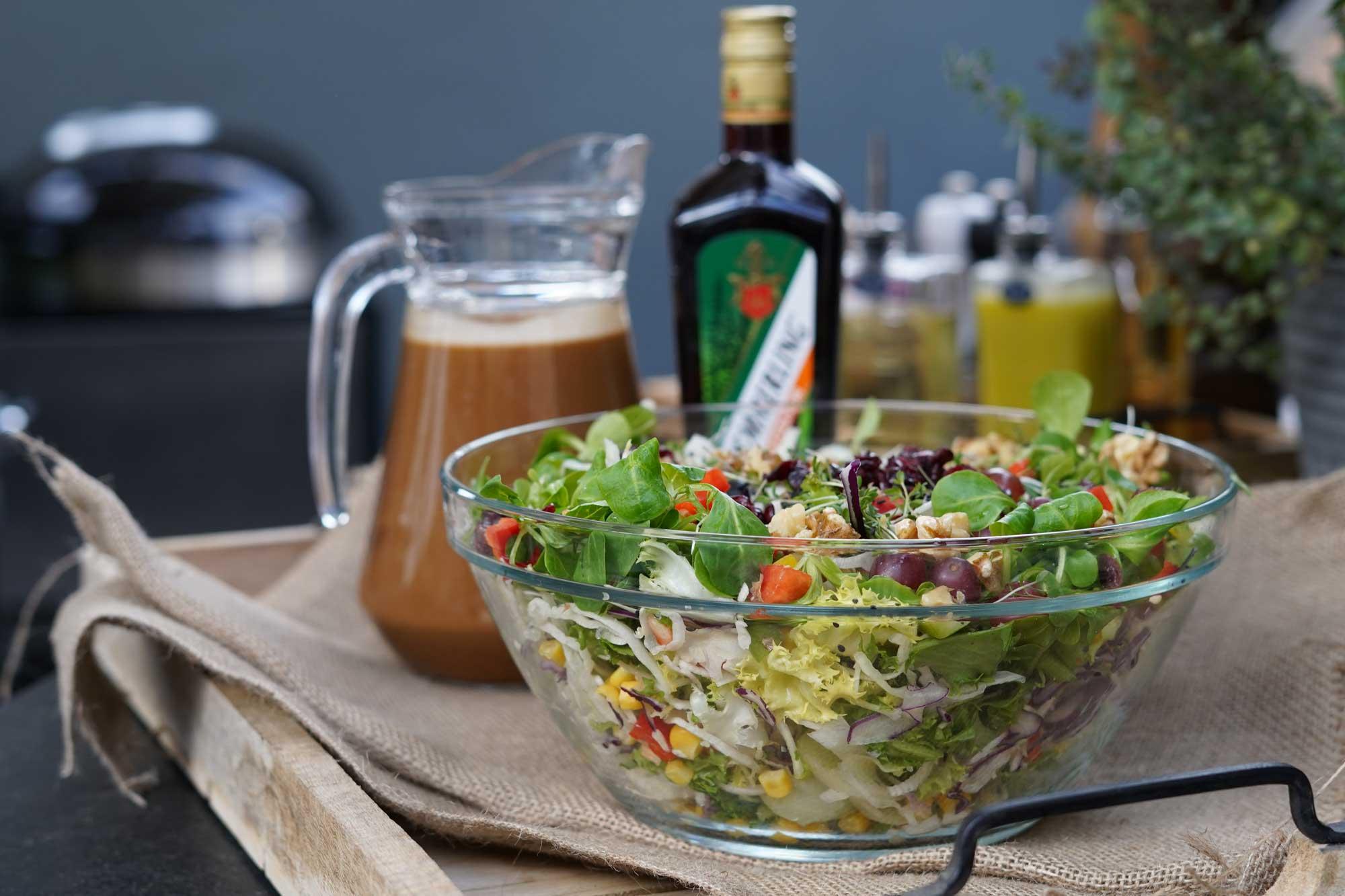 Leckeres BBQ Salat Dressing zum Selber Machen