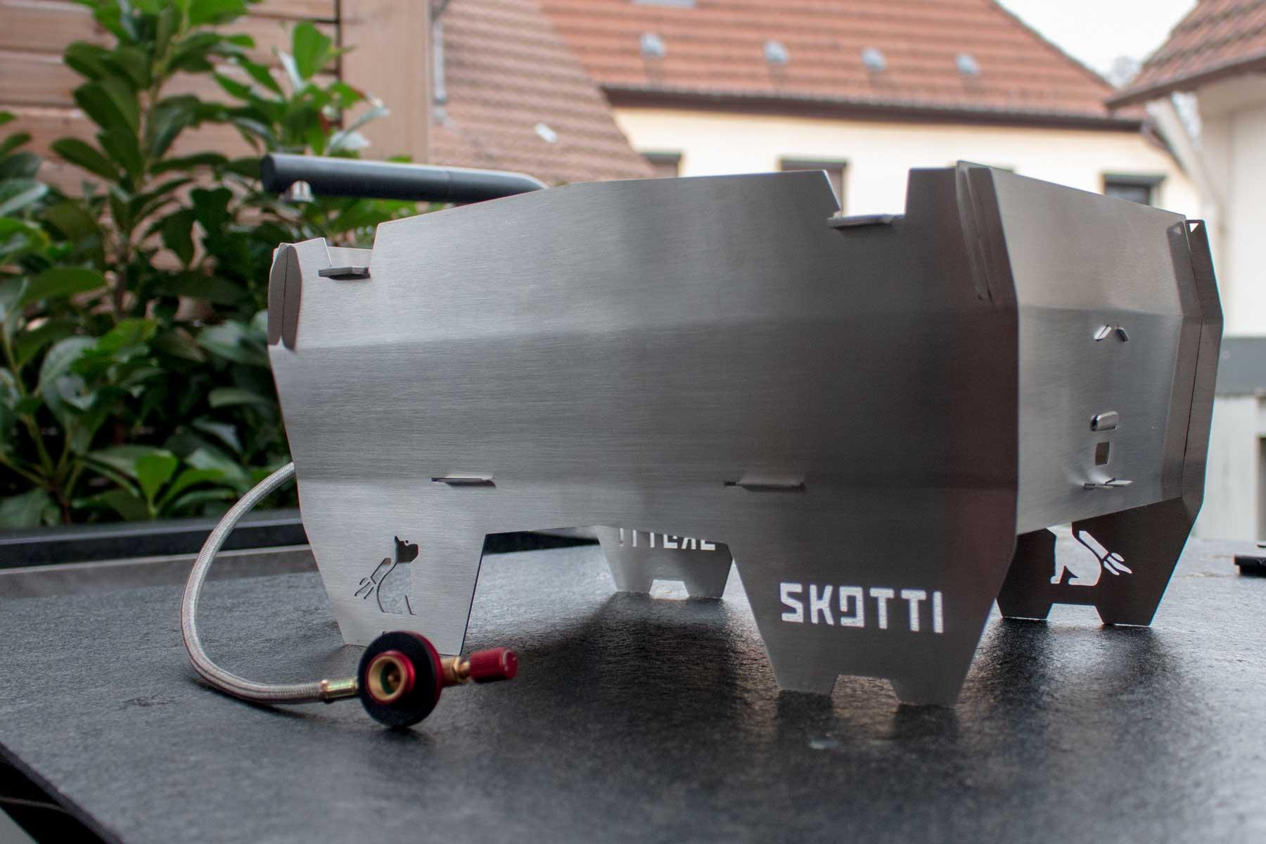 Der Skotti Grill im Test – was kann der mobile Camping Grill?